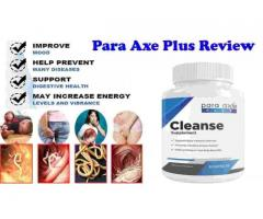 Para-Axe Plus Cleanse Review - Examination Finding
